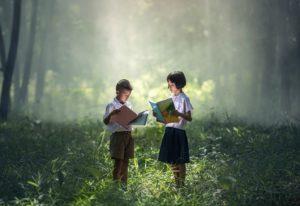 Livre, Asie, Enfants, Les Garçons, L'Éducation