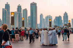 Centre Ville, Dubai, Émirats Arabes Unis, Le Tourisme