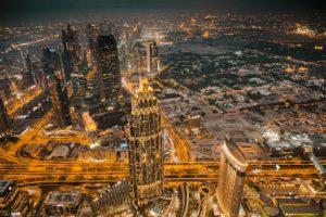 Dubai, Emirates, Burj Khalifa, Ligne D'Horizon, Ville